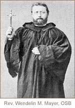 Rev. Wendelin M. Mayer, OSB